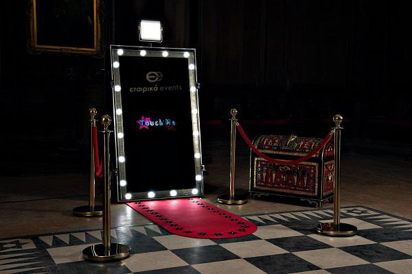 Photo booth για εταιρικά events